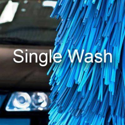 single wash